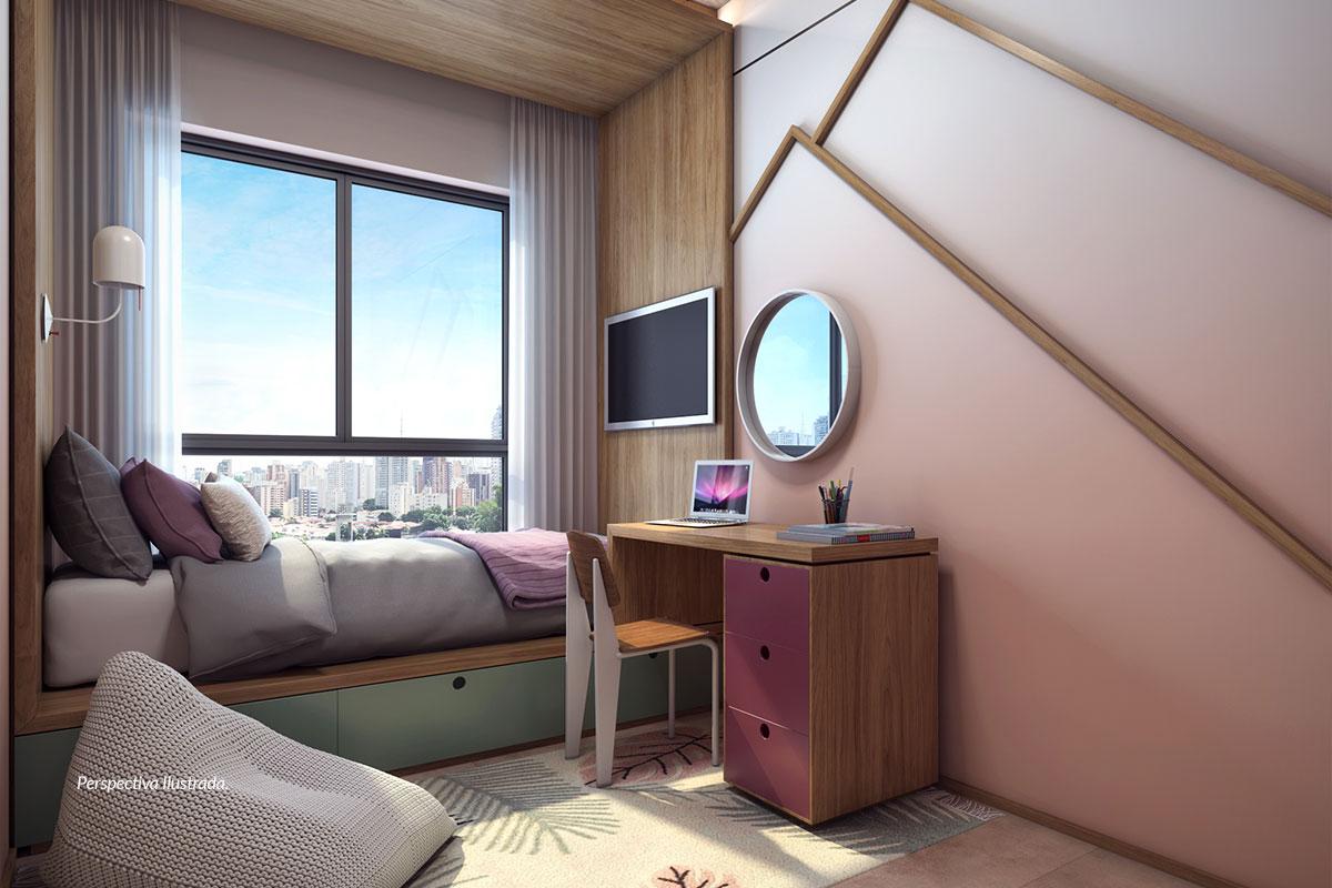 Apartamento de 77m² | Dormitório
